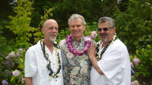Hawaii style w/Steve & Gene @Whidwood B&B